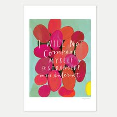 Strangers on the Internet Inspirational by emilymcdowelldraws, $32.00