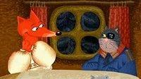 Гора самоцветов - Кот и Лиса (The cat and the fox) Русская сказка — Яндекс.Видео