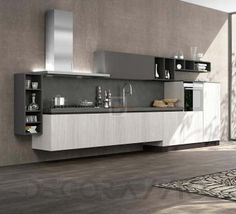#kitchen #design #interior #furniture #furnishings комплект в кухню Arredo3 Plana, AP3G