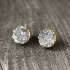 stud earrings.  jewelry Schmuck Layer Look
