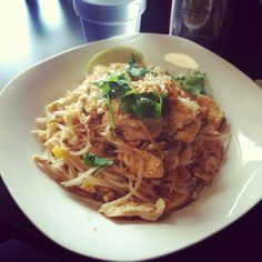 Pad Thai from Thai Curry Simple, Seattle International District