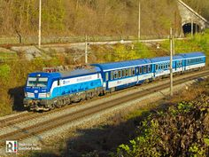 [CZ] The real thing: ELL > ČD Vectron in Eurocity livery -video] Electric Train, Electric Power, Station To Station, Railroad Pictures, Rail Transport, Bonde, Train Art, Locomotive, Transportation