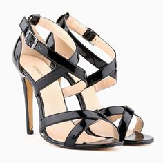 159f5936992f Misto Women Black Heels