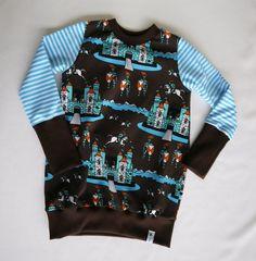 Pullover & Sweatshirts - ✪ ritterschloss ✪ Schönes Langarmshirt 98/ 104 - ein Designerstück von traumgenaeht bei DaWanda