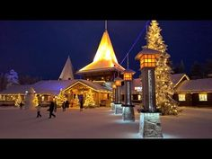 Santa Claus Village in Rovaniemi in Lapland