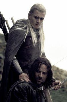Lord of the Rings - Aragorn & Legolas