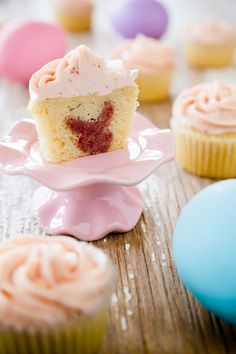 Easter Cupcakes With a Surprise Bunny Inside - from Cupcake Project
