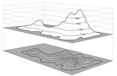 contour lines and how to read topographical maps