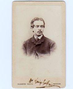 SPAZIO DELLA MUSICA 1 :VECCHIO SCARPONE: Luigi Golfieri ( fotografia con firma autografa ( ...