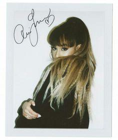 Ariana grande bangs, ponytail