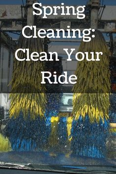 Spring Cleaning: Clean Your Ride with #JiffyLube #leaveworrybehind #ad