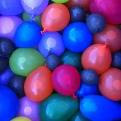 Summertime fun, Water balloons!