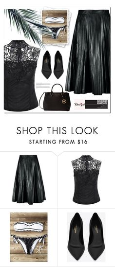 """""""Be in trend... with Rosegal! 11"""" by s-o-polyvore ❤ liked on Polyvore featuring Yves Saint Laurent and Michael Kors"""