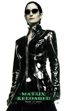 Carrie Anne Moss as Trinity in Matrix Reloaded