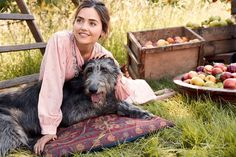Photo of Jenna Coleman from Town and Country's Autumn 2017 issue.