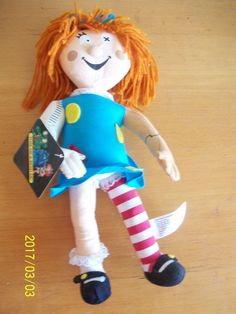 molly coddles DOLL bump in the night poseable stuffed all tags 1994 Rare HTF
