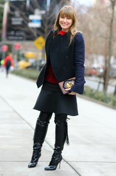 Viviana Volpicella in the Milan Snow | Street Fashion | Street Peeper | Global Street Fashion and Street Style