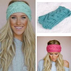 Teal Knit Headband NEW New! Never worn Accessories Hair Accessories