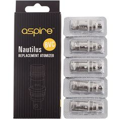 Aspire Nautilus / Nautilus Mini - BVC Replacement Coils - 5 Pack #VoodooVapeUK #ecigs #eliquid #cupti #ejuice #vaping #joyetech #Kanger #VapeOn #vapefam #vapelife