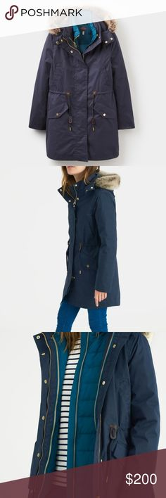 Selling this Joules Wyndfall Navy 3-in-1 Parka Style Coat on Poshmark! My username is: esbaker16. #shopmycloset #poshmark #fashion #shopping #style #forsale #Joules #Jackets & Blazers