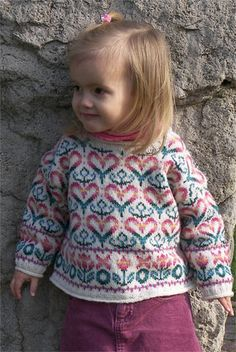 Ravelry: Cherished Pullover pattern by Renee Sparkes