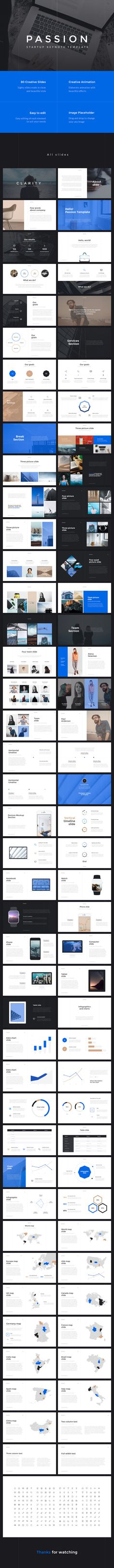 Passion Startup Keynote Template — Keynote KEY #design #powerpoint • Download ➝ https://graphicriver.net/item/passion-startup-keynote-template/19758911?ref=pxcr
