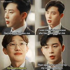What's wrong secretary kim Korean Drama Tv, Korean Actors, Kim Meme, Web Drama, Drama Fever, Kdrama Memes, Best Dramas, Seo Joon, Kdrama Actors