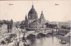 Berliner Dom.. Karte gelaufen 1917 nach Waiblingen als Feldpost