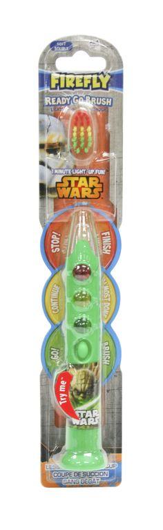 Firefly toothbrush Ready Go Brush Star Wars line