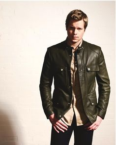 Marquee Management Management, Ford, Leather Jacket, Actors, Jackets, Fashion, Studded Leather Jacket, Down Jackets, Moda