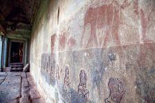 The hidden secrets of the temple walls.  Charlotte Pert