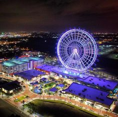 Orlando Eye - I-Drive- this was AWESOME!