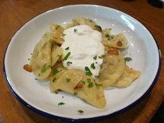 Vareniki with potato