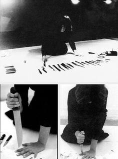 Marina Abramovic Rhythm