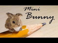Miniature Baby Bunny - Polymer Clay Tutorial - YouTube  I want to make do this and make it look like Stella! :3