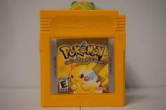 Pokemon Yellow Special Pikachu Edition game boy color gbc English SAVE USA 1998