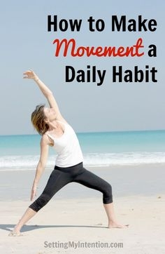 "Do you want to know the secret behind making movement a daily habit? Take a look at your current schedule and apply the ""3 step loop"" for fitness."