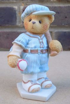 ENESCO Cherished Teddies Figurine - Lou 203432