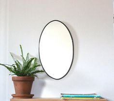 Hey, I found this really awesome Etsy listing at https://www.etsy.com/listing/212300348/oval-mirror-handmade-wall-mirror