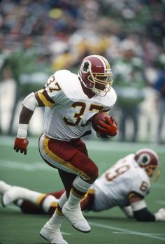 Gerald Riggs of the Washington Redskins