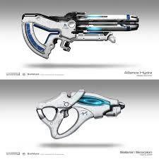 Hasil gambar untuk sci fi weapon types