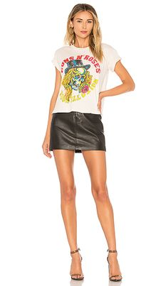f5313e1621f Madeworn Guns N Roses Use Your Illusion Tee in Off White | REVOLVE Long  Shorts,