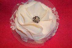 Lacy Bridal Hair Piece!