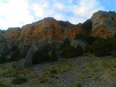 Cañón de Río Lobos en Soria.