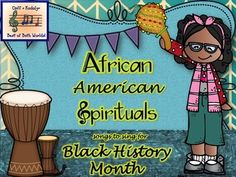 This is a great tool for Black History Month! Thirty eight ready-to-go songs for the music class!
