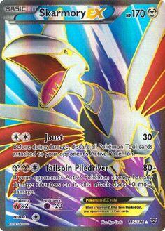 Skarmory EX Full Art 145/146 Xy Pokem... #Pokémon