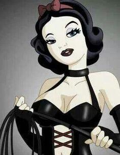 Naughty snow white!!!