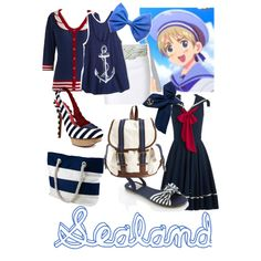 """Hetalia - Sealand"" by roishey on Polyvore"