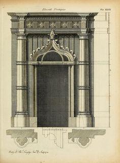 archimaps:  Design for a doorway, England