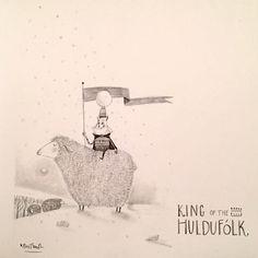 SKETCHBOOK   King of the Icelandic Trolls